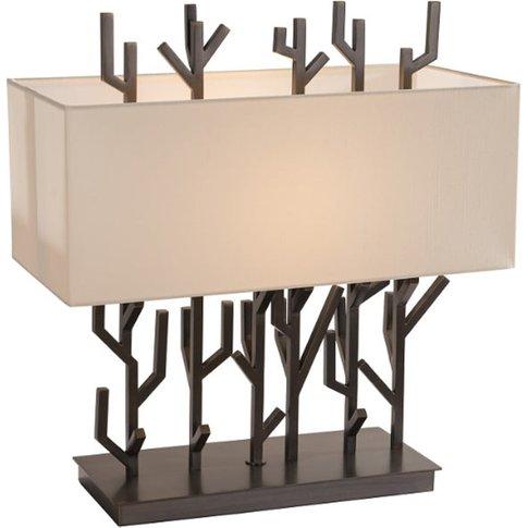 Rv Astley Carrock Dark Brass Table Lamp