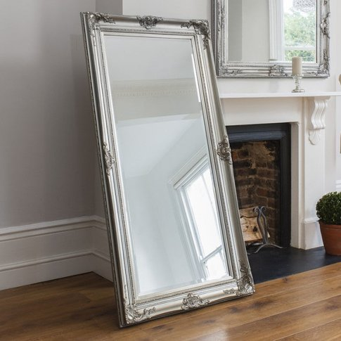 Gallery Direct Harrow Leaner Mirror Silver