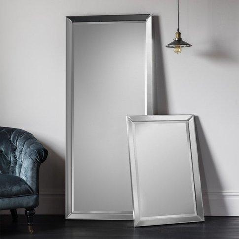 Gallery Direct Luna Leaner Mirror / Grey
