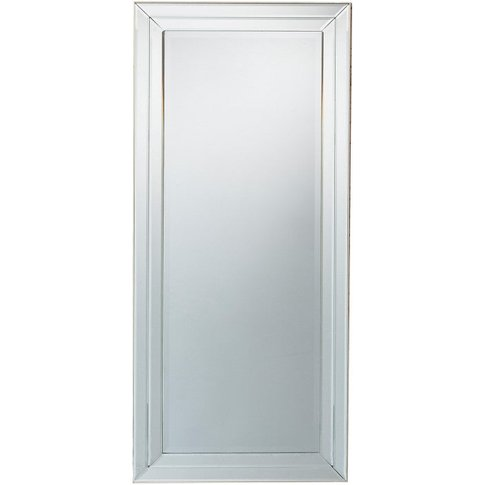 Gallery Direct Roswell Mirror / Silver / Small