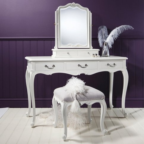 Gallery Direct Chic Dressing Table In Off White