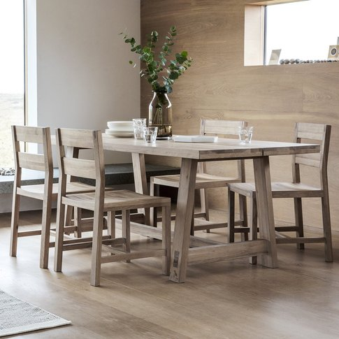 Hudson Living Kielder Scandi Dining Table Small | Ou...