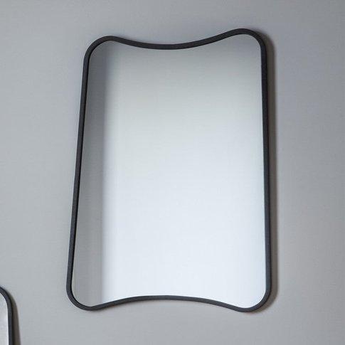 Gallery Direct Kurva Mirror / Siver