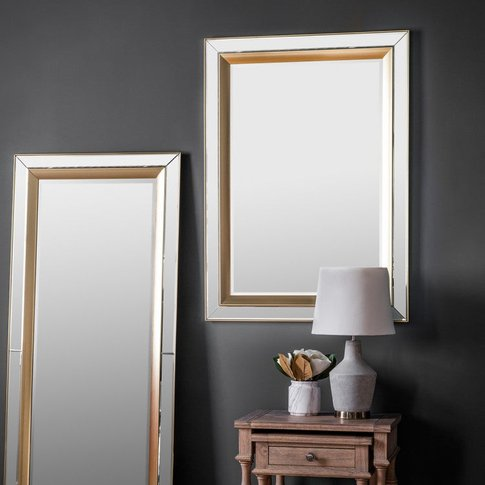 Gallery Direct Phantom Mirror / White / Square