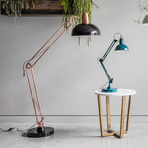 Gallery Direct Watson Oversized Floor Lamp In Copper...
