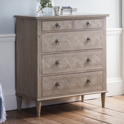 Gallery Direct Mustique 5 Drawer Chest