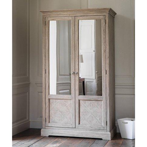 Gallery Direct Mustique 2 Mirror Door Wardrobe