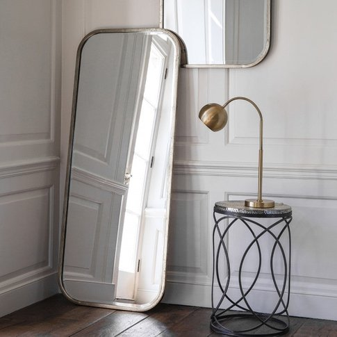 Gallery Direct Logan Leaner Mirror / Black / Wall