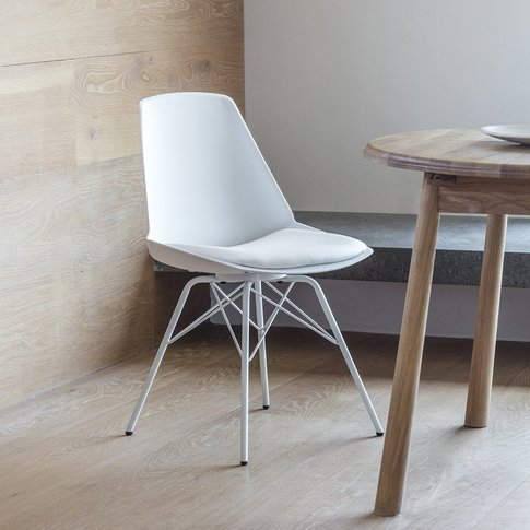 Hudson Living Set Of 4 Finchley Dining Chair White