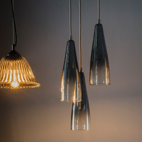Gallery Direct Hayes Glass Multi-Ceiling Light