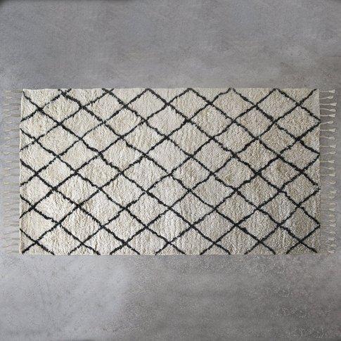 Gallery Direct Colorado Berber Diamond Rug In Cream