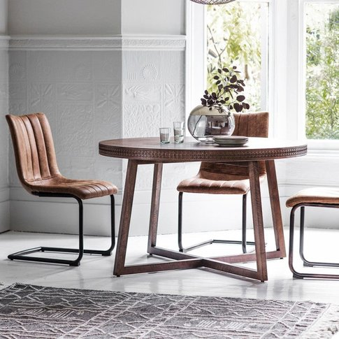 Gallery Direct Boho Retreat Round Dining Table