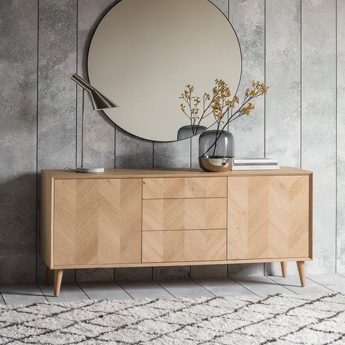 Gallery Milano 2 Door/3 Drawer Sideboard