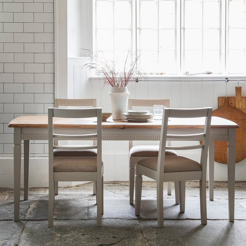 Gallery Bronte Extendable Dining Table In Taupe