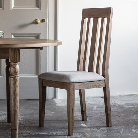 Gallery Direct Cookham Dining Chair In Oak (2pk)