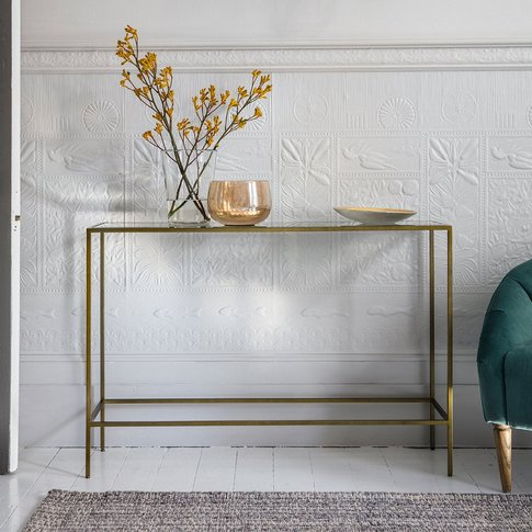 Gallery Direct Rothbury Console Table Bronze