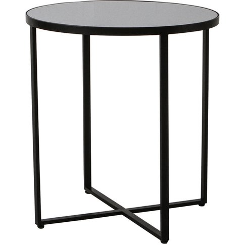 Gallery Direct Torrance Side Table / Black