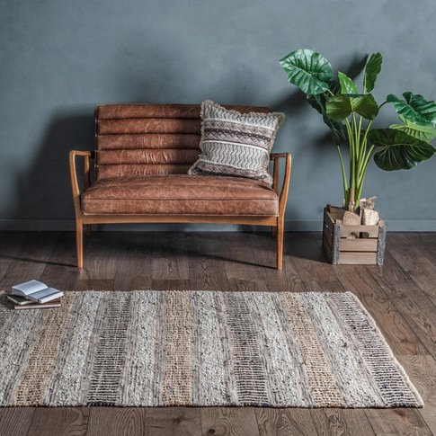 Gallery Direct Rojas Leather Rug
