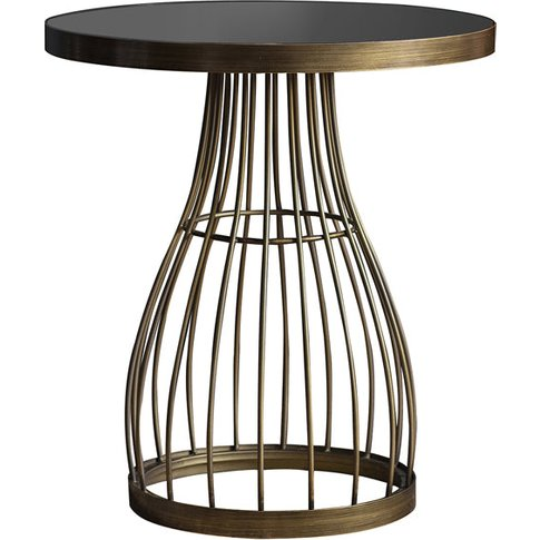 Gallery Direct Southgate Side Table / Champagne