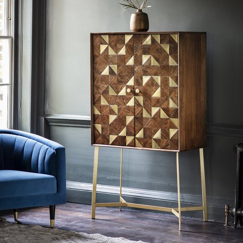 Gallery Direct Tate Bar Cabinet