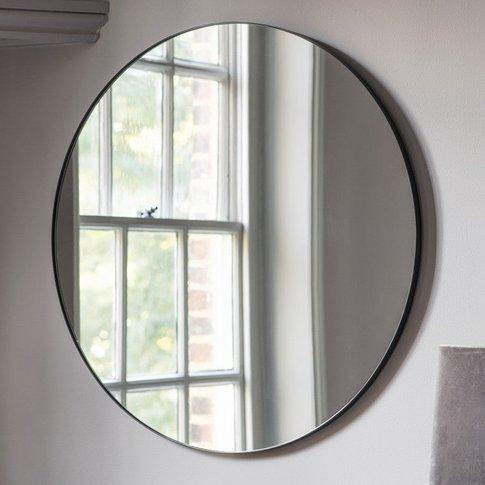 Gallery Direct Bowie Round Mirror Black