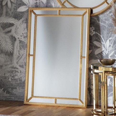 Gallery Direct Sinatra Mirror / Gold / Round