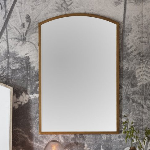 Gallery Direct Higgins Arch Mirror / Antique Silver ...