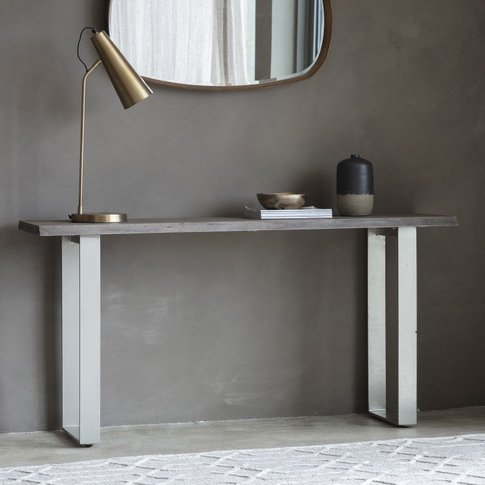Gallery Direct Huntington Console Table Grey