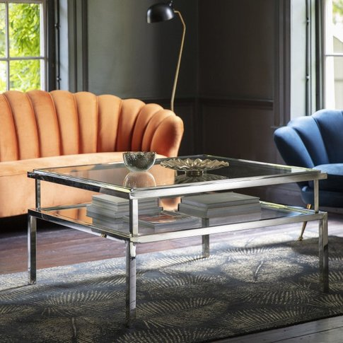 Gallery Direct Salerno Coffee Table Silver