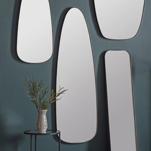 Gallery Direct Bursa Mirror Pewter