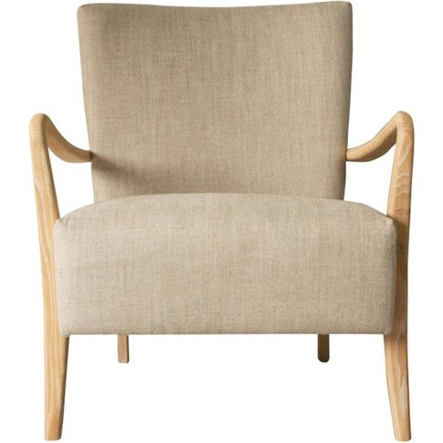 Gallery Direct Chedworth Armchair Natural Linen