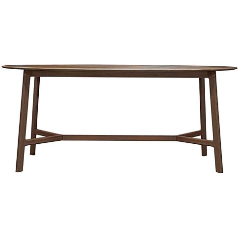 Gallery Direct Madrid Dining Table / Walnut / Round