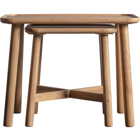 Gallery Direct Kingham Nest Of Tables / Grey