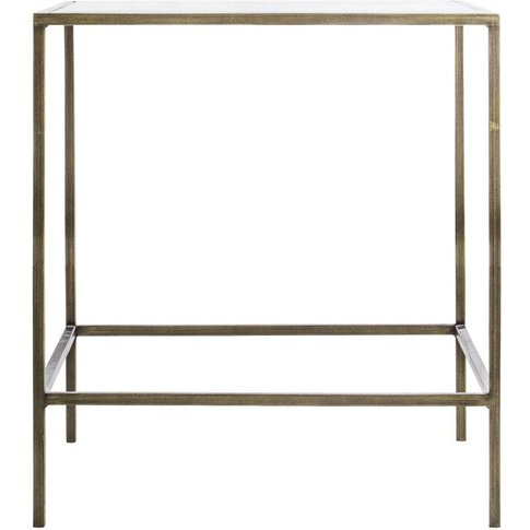 Gallery Direct Rothbury Side Table / Champagne