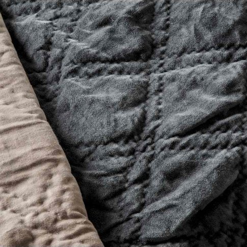 Gallery Direct Quilted Diamond Blanket Bedspread In ...