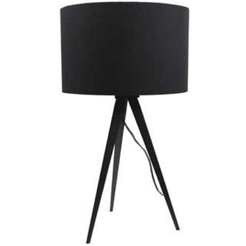 Zuiver Tripod Table Lamp Black - Metal Base / Black ...