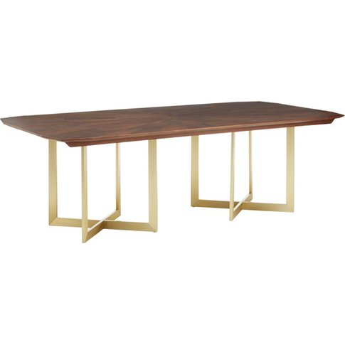 Liv By Olivia's Dining Table Vera Brown