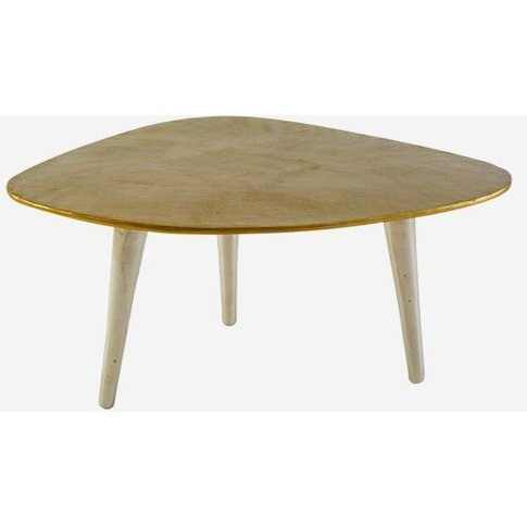 Andrew Martin Calder Gold Coffee Table