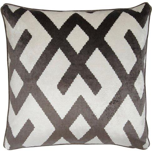 Andrew Martin Fitzroy Grey Cushion