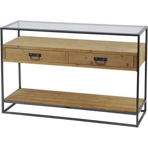 Libra Kempsey Wooden Console Table