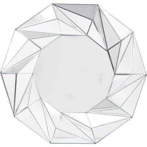 Libra Tessellated Geometric Wall Mirror