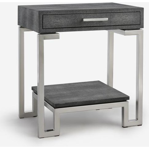 Andrew Martin Flex Side Table in Grey