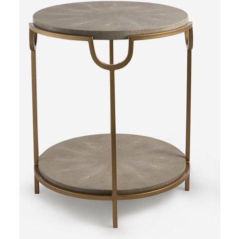 Andrew Martin Katia Cream Side Table