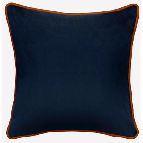 Andrew Martin Houdini Ink/Tangerine Cushion
