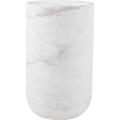 Zuiver Vase Fajen Marble White | Outlet