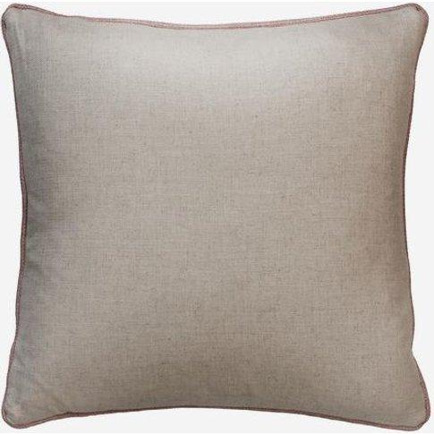 Andrew Martin Hedgerow Plain / Piazetta Rose Cushion
