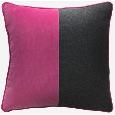 Andrew Martin Double Dip Fuchsia Fizz Cushion, Square