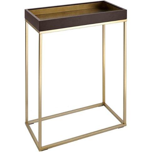 Rv Astley Alyn Chocolate Console Table / Small