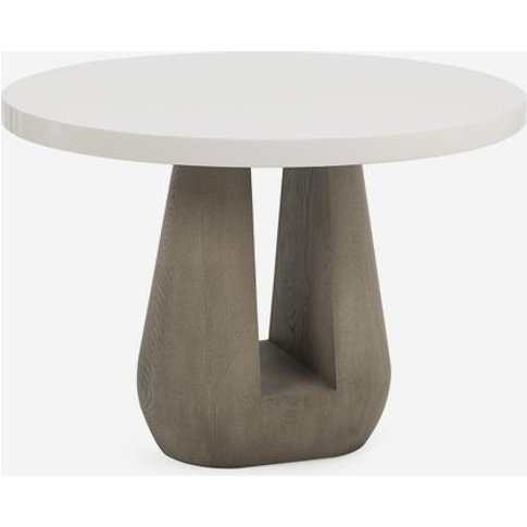 Andrew Martin Gray Side Table
