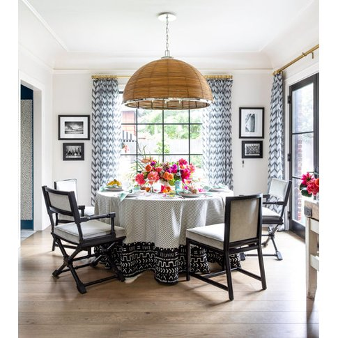 Hudson Valley Lighting Carayes Rattan And Stainless ...